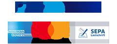 PayPal-Visa-Amex-Mastercard-Lastschrift